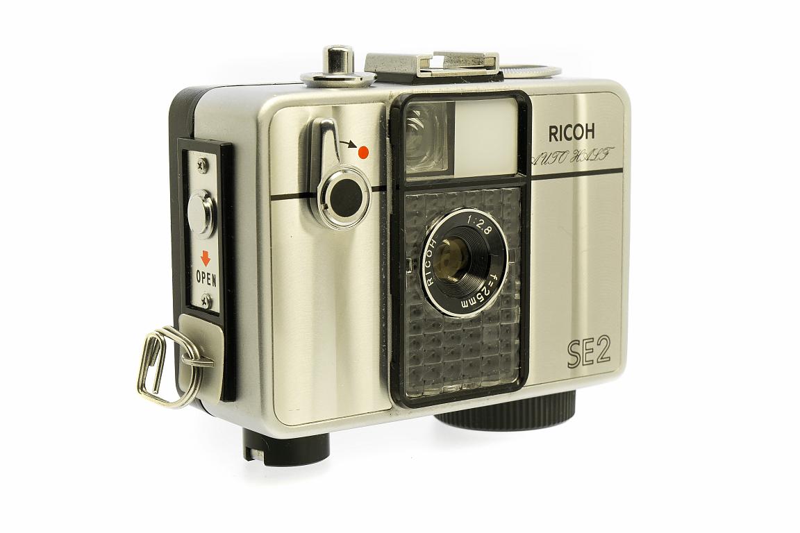 フィルムカメラ 修理 RICOH AUTO HALF SE2