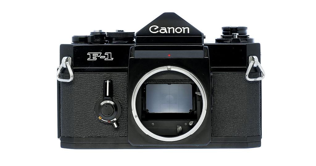Canon F-1 フィルムカメラ 修理