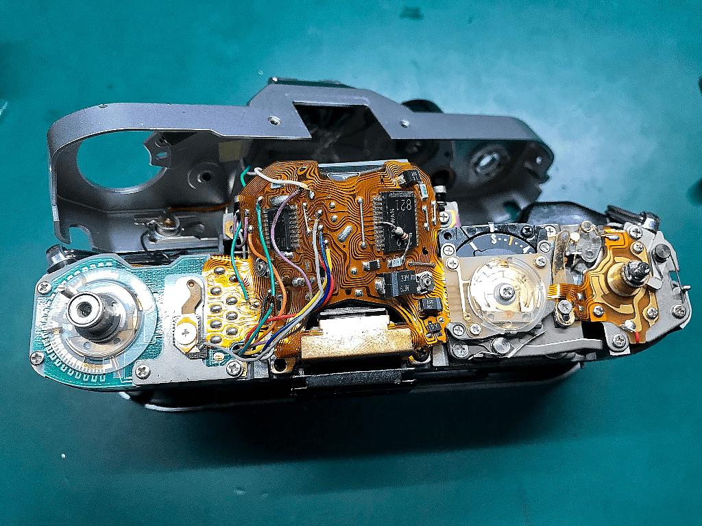 Canon AE-1 PROGRAM フィルムカメラ 修理