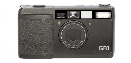 RICOH GR1 フィルムカメラ 修理