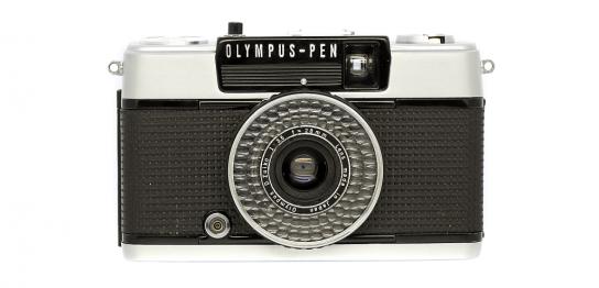 OLYMPUS PEN EE-3 フィルムカメラ 修理