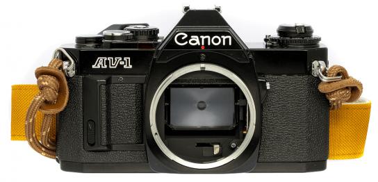 Canon AV-1 フィルムカメラ 修理