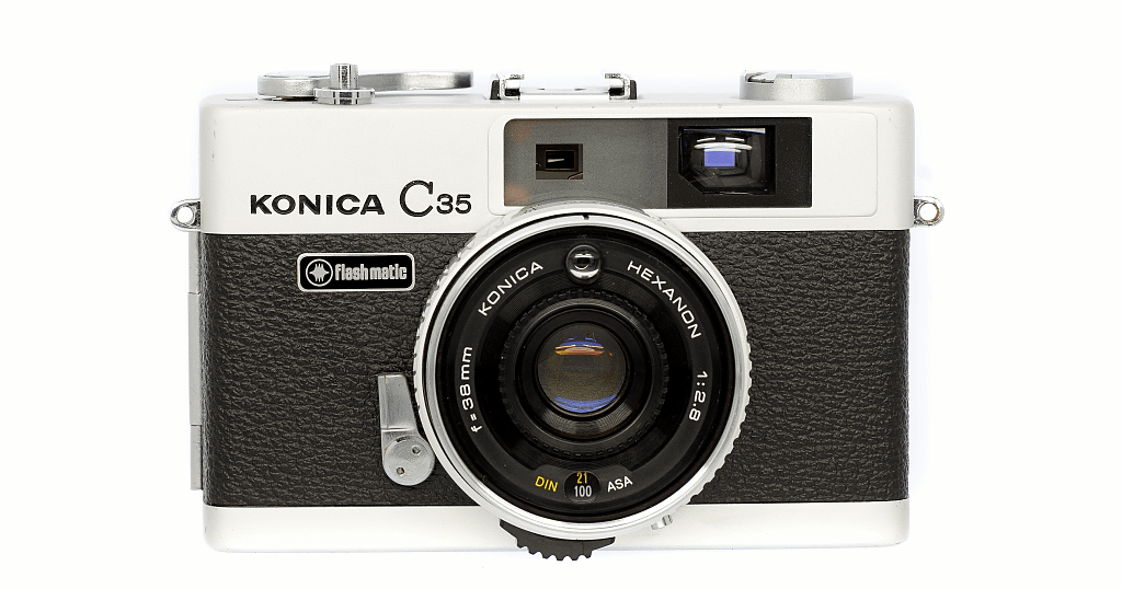 Konica C35 Flash matic フィルムカメラ 修理