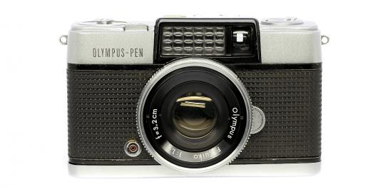 OLYMPUS PEN-D フィルムカメラ修理