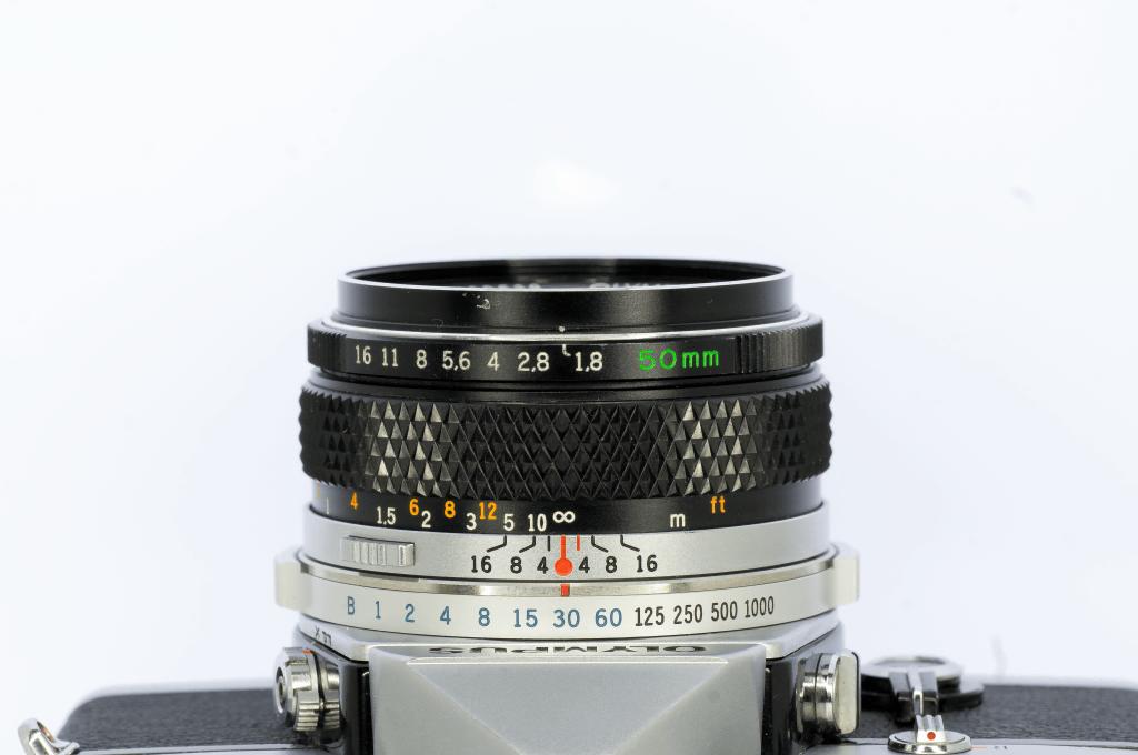 OLYMPUS 50mm f1.8