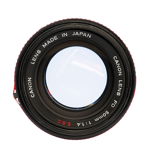 Canon FD LENS 50mm f1.4 SSC