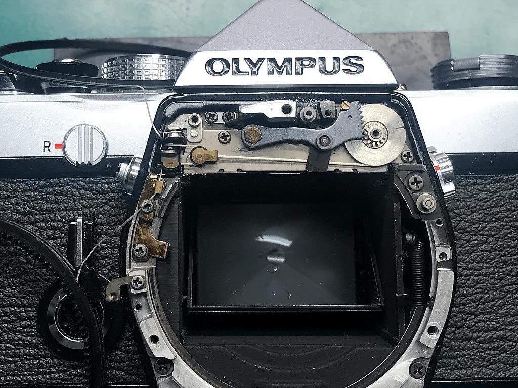 OLYMPUS OM-1 露出計不動
