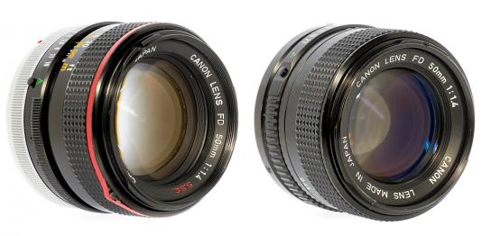 Canon FD LENS 50mm f1.4