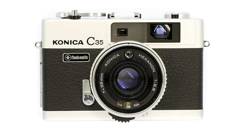 KONICA C35 flash matic フィルムカメラ修理
