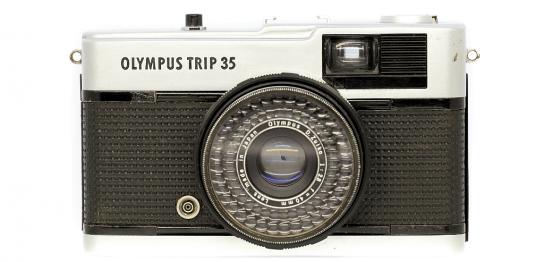 OLYMPUS TRIP35 フィルムカメラ修理