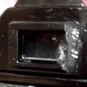 Canon AE-1 PROGRAM 接眼破損