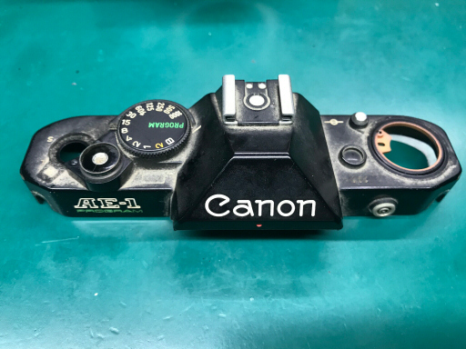 Canon AE-1 PROGRAM トップカバー
