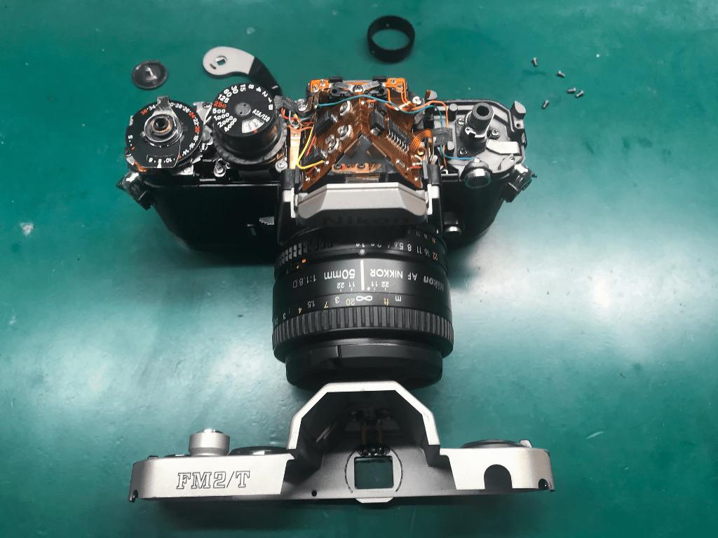 Nikon New FM2/T 分解