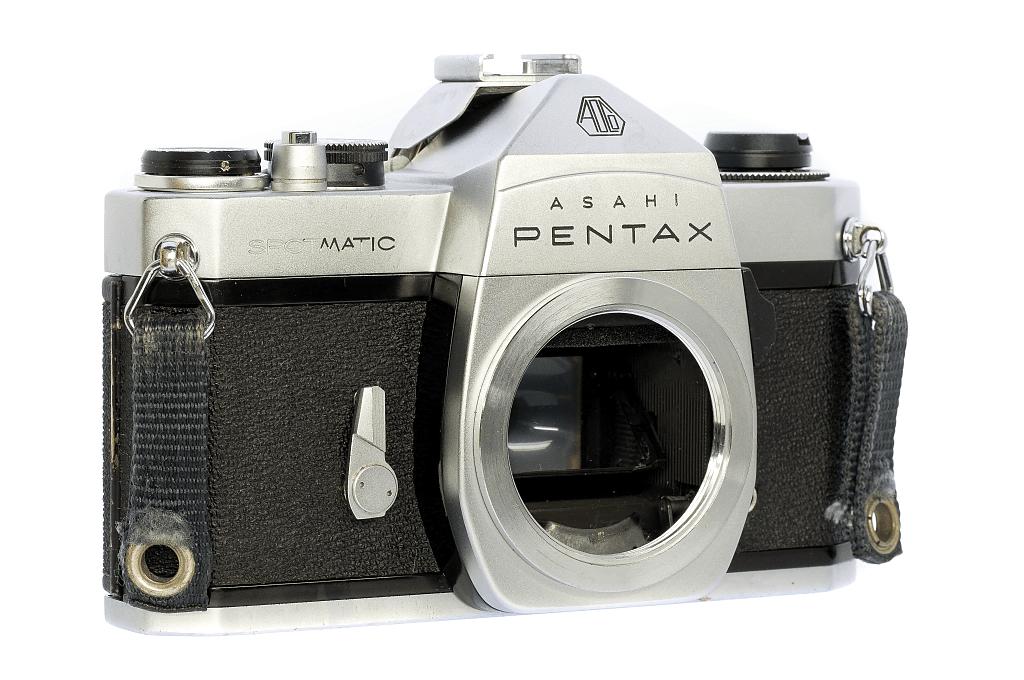 ASAHI PENTAX SPOTMATIC フィルムカメラ修理