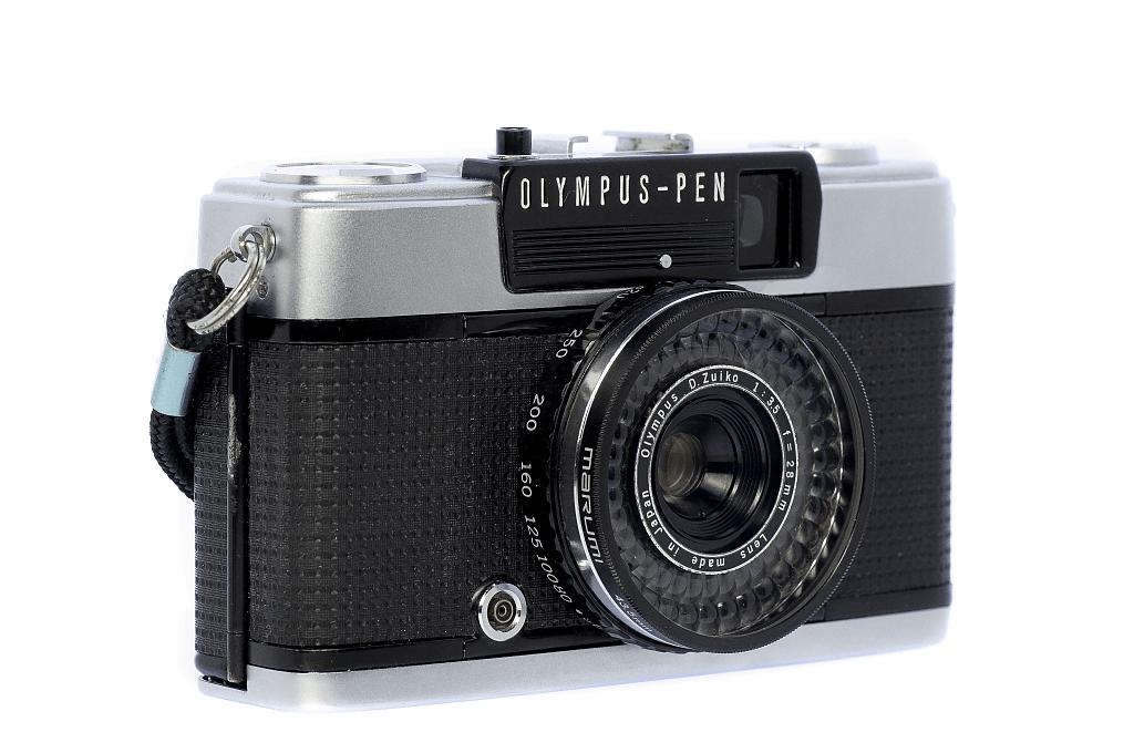 OLYMPUS PEN EE-3 フィルムカメラ修理