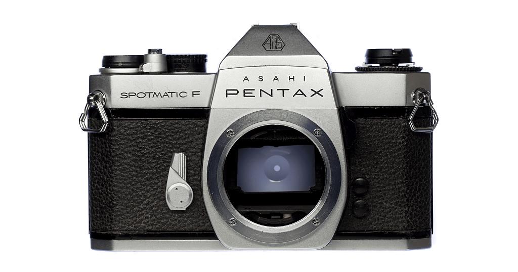 ASAHI PENTAX SPOTMATIC F フィルムカメラ修理