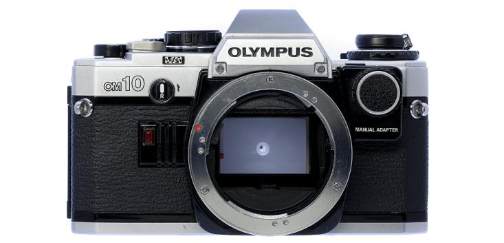 OLYMPUS OM10 フィルムカメラ修理