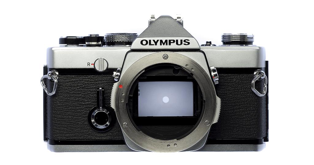 OLYMPUS OM-1 フィルムカメラ修理