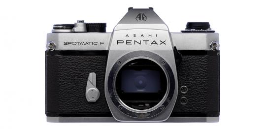 ASAHI PENTAX SPOTMATIC F フィルムカメラ 修理