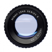 Nikon LENS SERIES E 100mm 1:2.8 レンズ清掃